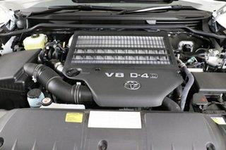 2020 Toyota Landcruiser VDJ200R LC200 VX (4x4) Pearl White 6 Speed Automatic Wagon