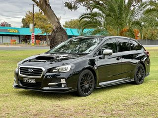 2016 Subaru Levorg V1 MY17 2.0 GT-S CVT AWD Black 8 Speed Constant Variable Wagon.