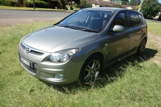 2011 Hyundai i30 FD MY11 SR Silver 4 Speed Automatic Hatchback.