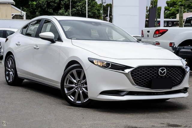 New Mazda 3 BP2S7A G20 SKYACTIV-Drive Evolve Waitara, 2021 Mazda 3 BP2S7A G20 SKYACTIV-Drive Evolve White 6 Speed Sports Automatic Sedan