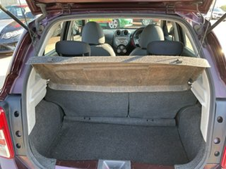 2013 Nissan Micra K13 MY13 ST Purple 5 Speed Manual Hatchback