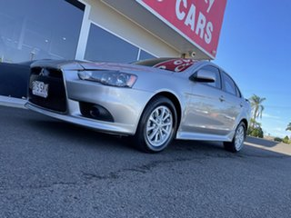 2012 Mitsubishi Lancer CJ MY12 Activ Silver 6 Speed Constant Variable Sedan.