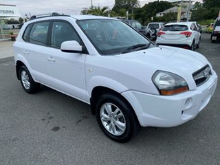 2008 Hyundai Tucson JM MY07 City SX White/209308 4 Speed Sports Automatic Wagon.