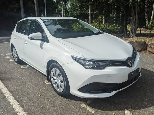 Used Toyota Corolla ZRE182R Ascent S-CVT Stuart Park, 2017 Toyota Corolla ZRE182R Ascent S-CVT White 7 Speed Constant Variable Hatchback