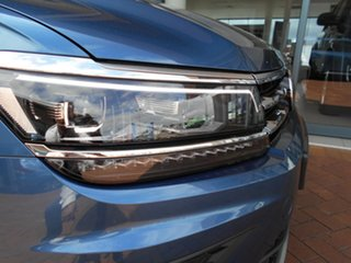 2020 Volkswagen Tiguan 5N MY21 110TSI Comfortline DSG 2WD Allspace Blue Silk Metallic 6 Speed