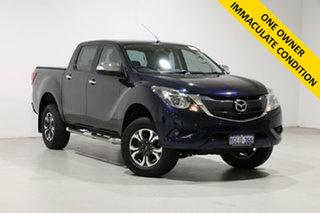 2017 Mazda BT-50 MY17 Update GT (4x4) Blue 6 Speed Automatic Dual Cab Utility.