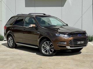 2014 Ford Territory SZ Titanium Seq Sport Shift Bronze 6 Speed Sports Automatic Wagon.