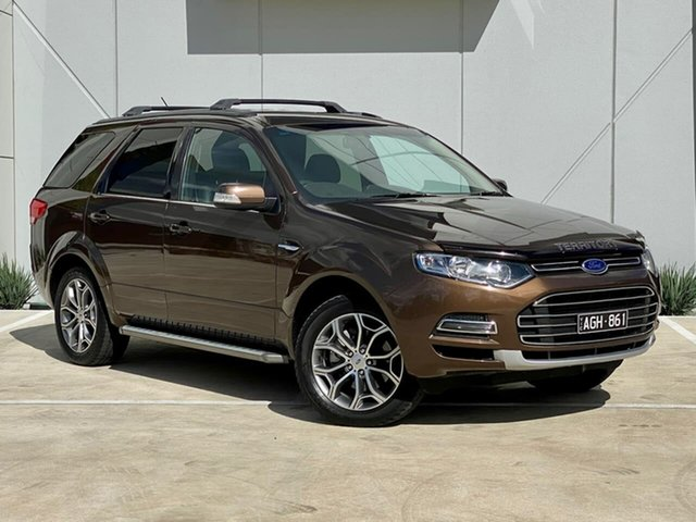 Used Ford Territory SZ Titanium Seq Sport Shift Templestowe, 2014 Ford Territory SZ Titanium Seq Sport Shift Bronze 6 Speed Sports Automatic Wagon