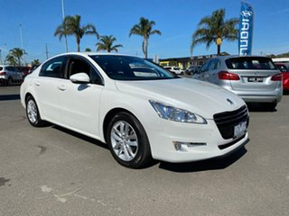 2011 Peugeot 508 (No Series) Active White Sports Automatic Single Clutch Sedan.