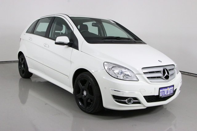 Used Mercedes-Benz B180 245 MY10 CDI Bentley, 2010 Mercedes-Benz B180 245 MY10 CDI White Continuous Variable Hatchback