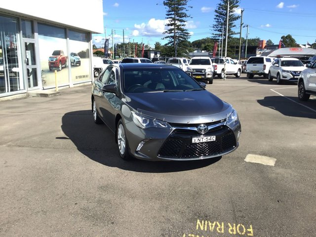 Pre-Owned Toyota Camry ASV50R Atara SL Cardiff, 2015 Toyota Camry ASV50R Atara SL Grey 6 Speed Sports Automatic Sedan
