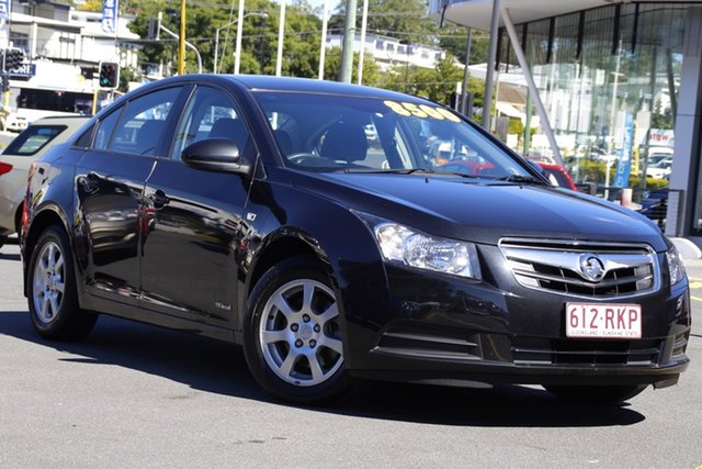 Used Holden Cruze JG CD Mount Gravatt, 2010 Holden Cruze JG CD Black 5 Speed Manual Sedan