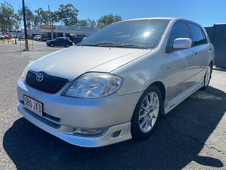 2004 Toyota Corolla ZZE123R Sportivo Silver 6 Speed Manual Hatchback