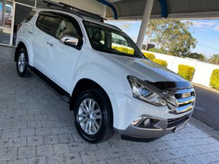 2017 Isuzu MU-X UC MY16.5 LS-T White 6 Speed Sports Automatic Wagon