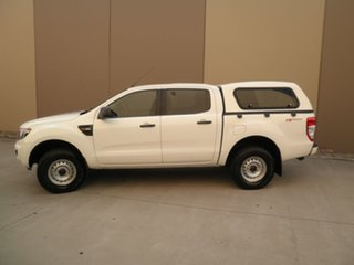 2013 Ford Ranger PX XL Hi-Rider White Silk 6 Speed Manual Utility
