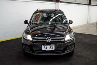2015 Volkswagen Tiguan 5N MY15 118TSI DSG 2WD Black 6 Speed Sports Automatic Dual Clutch Wagon.