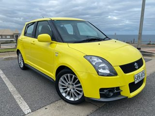 2008 Suzuki Swift RS416 Sport Yellow 5 Speed Manual Hatchback.