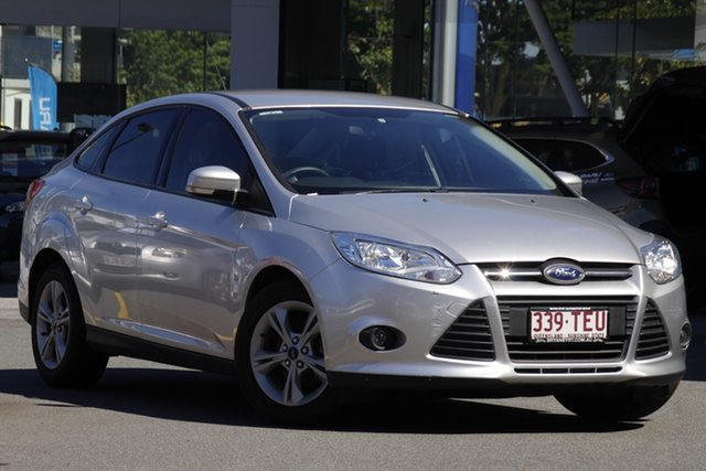 Used Ford Focus LW MkII Trend PwrShift Mount Gravatt, 2013 Ford Focus LW MkII Trend PwrShift Silver 6 Speed Sports Automatic Dual Clutch Sedan
