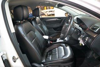 2014 Volkswagen Passat Type 3C MY14.5 118TSI DSG White 7 Speed Sports Automatic Dual Clutch Sedan