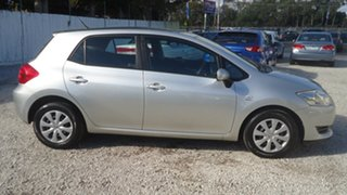 2007 Toyota Corolla ZRE152R Ascent Silver 4 Speed Automatic Hatchback.