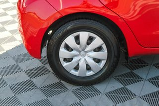 2012 Toyota Yaris NCP130R YR Red 5 Speed Manual Hatchback
