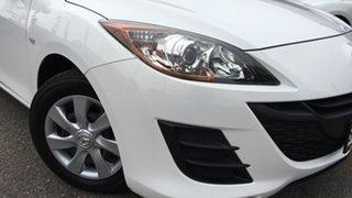 2010 Mazda 3 BL10F1 Neo White 6 Speed Manual Sedan.