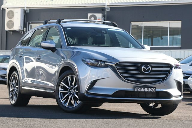 Pre-Owned Mazda CX-9 TC GT SKYACTIV-Drive Brookvale, 2017 Mazda CX-9 TC GT SKYACTIV-Drive Silver 6 Speed Sports Automatic Wagon