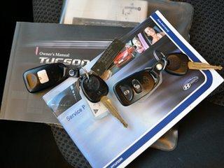 2008 Hyundai Tucson JM MY09 City SX Blue Gem 4 Speed Sports Automatic Wagon