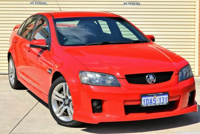 Used Holden Commodore VE MY09 SV6 Mount Lawley, 2008 Holden Commodore VE MY09 SV6 Red 6 Speed Manual Sedan