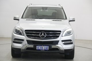 2014 Mercedes-Benz M-Class W166 ML500 7G-Tronic + Silver 7 Speed Sports Automatic Wagon.