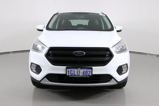 2017 Ford Escape ZG MY18 Ambiente (FWD) White 6 Speed Automatic SUV.