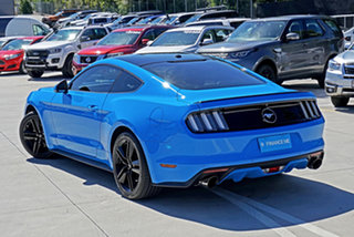 2017 Ford Mustang FM 2017MY Fastback Blue 6 Speed Manual Fastback.