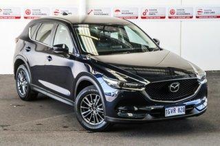 2019 Mazda CX-5 MY19 (KF Series 2) Touring (4x4) Blue 6 Speed Automatic Wagon.