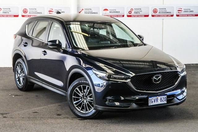 Pre-Owned Mazda CX-5 MY19 (KF Series 2) Touring (4x4) Rockingham, 2019 Mazda CX-5 MY19 (KF Series 2) Touring (4x4) Blue 6 Speed Automatic Wagon