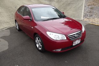 2006 Hyundai Elantra HD Elite Red 4 Speed Automatic Sedan.