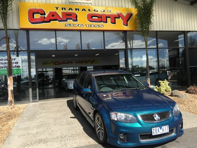 Used Holden Commodore VE II MY12 SS Traralgon, 2012 Holden Commodore VE II MY12 SS Green 6 Speed Automatic Sportswagon