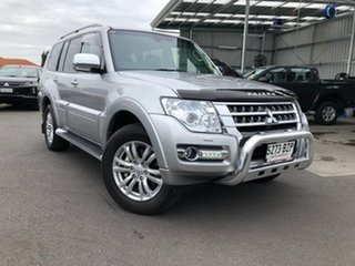 2019 Mitsubishi Pajero NX MY19 GLS Silver 5 Speed Sports Automatic Wagon.