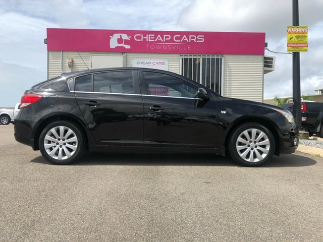 Used Holden Cruze JH Series II MY12 CDX Garbutt, 2012 Holden Cruze JH Series II MY12 CDX Black 6 Speed Sports Automatic Hatchback