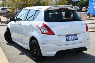 2015 Suzuki Swift FZ MY15 GL Navigator White 4 Speed Automatic Hatchback.