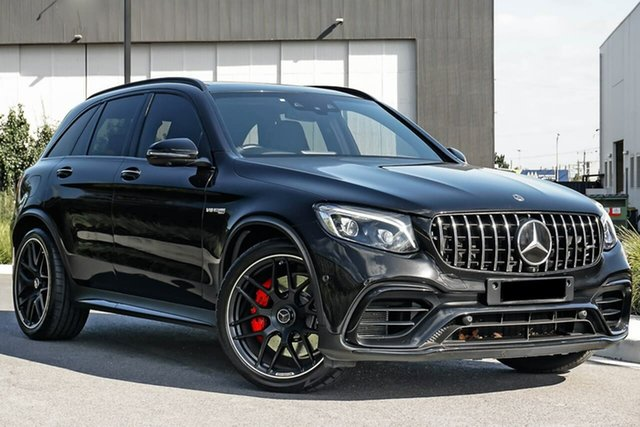 Used Mercedes-Benz GLC-Class C253 809MY GLC63 AMG Coupe SPEEDSHIFT MCT 4MATIC+ S Essendon Fields, 2018 Mercedes-Benz GLC-Class C253 809MY GLC63 AMG Coupe SPEEDSHIFT MCT 4MATIC+ S Black 9 Speed
