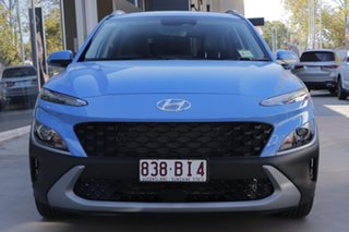 2020 Hyundai Kona Os.v4 MY21 Active 2WD Surfy Blue 8 Speed Constant Variable Wagon.