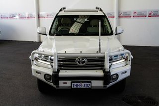 2016 Toyota Landcruiser VDJ200R MY16 VX (4x4) Crystal Pearl 6 Speed Automatic Wagon