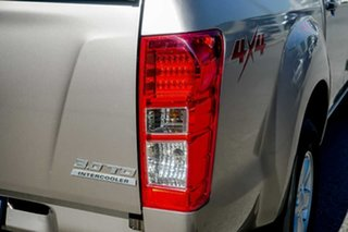 2013 Isuzu D-MAX MY12 LS-M Crew Cab Beige 5 Speed Manual Utility