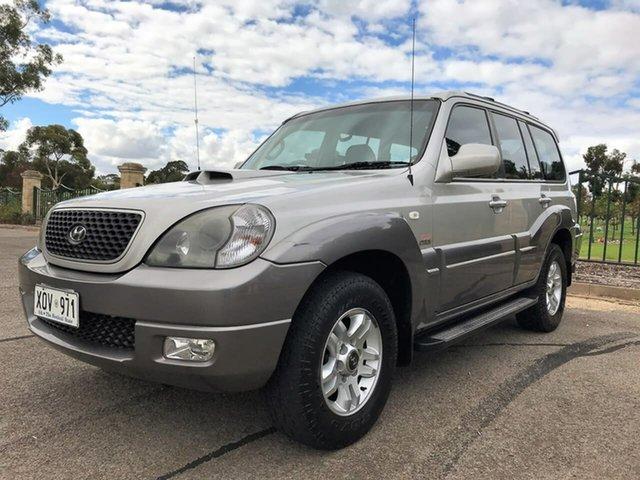Used Hyundai Terracan HP MY06 Enfield, 2006 Hyundai Terracan HP MY06 Silver 4 Speed Automatic Wagon