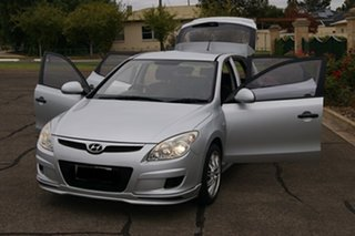 2009 Hyundai i30 FD MY09 SX Silver 5 Speed Manual Hatchback