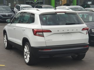 2019 Skoda Karoq NU MY20 110TSI DSG FWD White 7 Speed Sports Automatic Dual Clutch Wagon