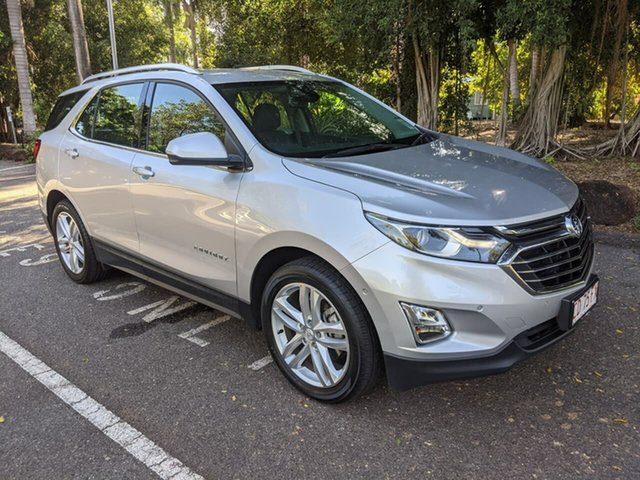 Used Holden Equinox EQ MY18 LTZ FWD Stuart Park, 2019 Holden Equinox EQ MY18 LTZ FWD Silver 9 Speed Sports Automatic Wagon
