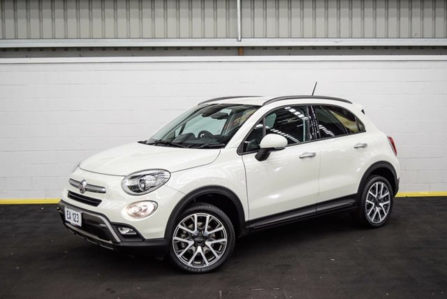 Used Fiat 500X 334 Cross Plus AWD Canning Vale, 2017 Fiat 500X 334 Cross Plus AWD White 9 Speed Sports Automatic Wagon
