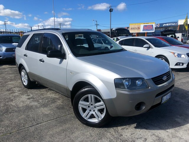 Used Ford Territory SY TX Derwent Park, 2006 Ford Territory SY TX Silver 4 Speed Sports Automatic Wagon