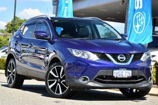 2015 Nissan Qashqai J11 TI Blue 6 Speed Manual Wagon.